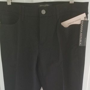 Black Sloan Pants by Banana Republic, size 8p